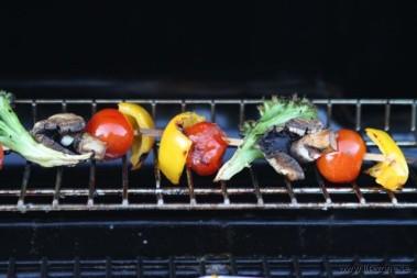 Bra LCHF-grönsaksspett