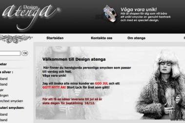 Utlottning av smycken¸ Design Atenga