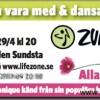 ZUMBA annons i tidningen