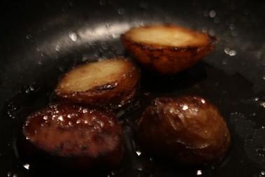 Igår åt jag potatis!!! Vad hände med ketonerna tro?