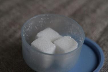 Ett 'otrevligt' minne om sockerbitar