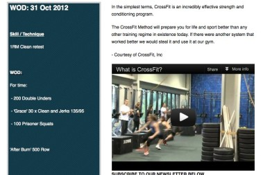 Crossfit i Cape Town