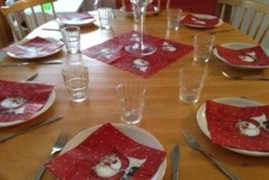 Julbord på förskolan