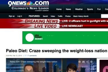 Paleo på nyheterna i USA som den stora viktminsknings succé!