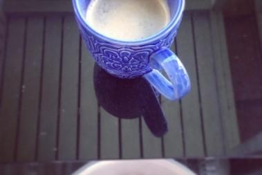 Kaffe o fotbad – bra kombo