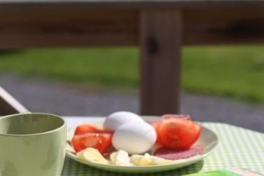 LCHF frukosten på lchf campingen