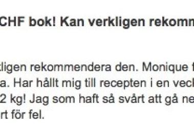 Fina recensioner: LCHF PÅ RIKTIGT