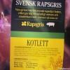 Svenska grisar äter fett