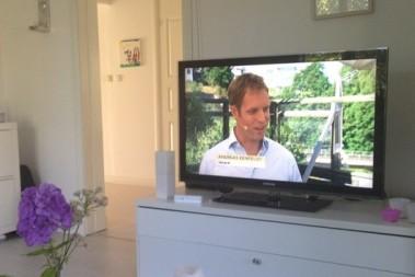 Kostdoktorn i het TV debatt