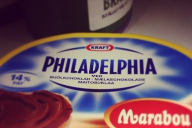 Philadelphiaost goes chocolate