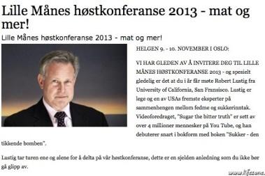 Robert Lustig till LCHF konferens – inte att missa!