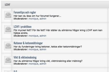 Fantastisk respons på LCHF-forumet & 5:2!