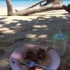 Kycklingklubbor o sand