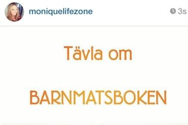 Tävla om Barnmatsboken på Instagram