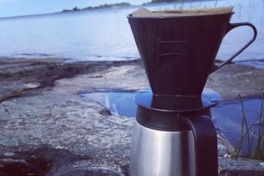 Kaffe m utsikt