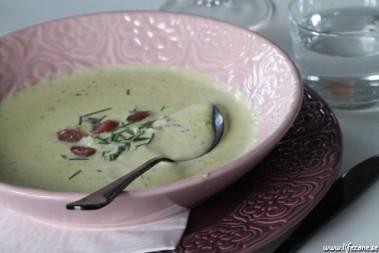 LCHF zucchinisoppa / squashsoppa