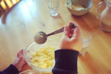 Mättande barnfrukost