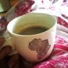 Morgonkaffe på sängen