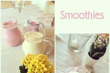 Fixade gräddiga smoothies till alla föräldrar