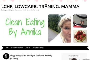 LCHF på riktigt hos Annika!