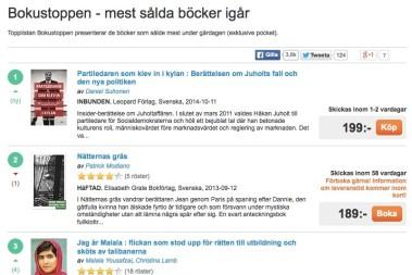 BARNMATSBOKEN – Bland sveriges MEST sålda böcker igår!