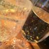 Champagne med äkta guld i!!!