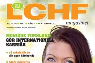 Jag är cover-girl – nya LCHF magasinet ute snart!