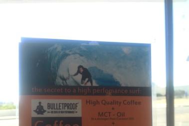 Äkta fettkaffe (bulletproof coffee) på restaurang!
