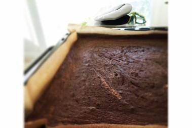 Lchf chokladkaka i långpanna