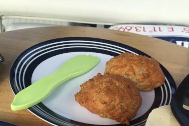Lchf sesam scones – sååå goda