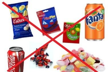 Stop för socker o chips i skolan