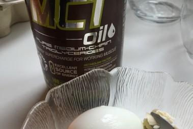 Ägg och MCT olja