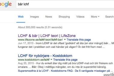 Google – LCHF bär!