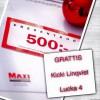 GRATTIS! 500kr från Ica Maxi!
