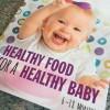 Nya boken 'baby food' i handen!