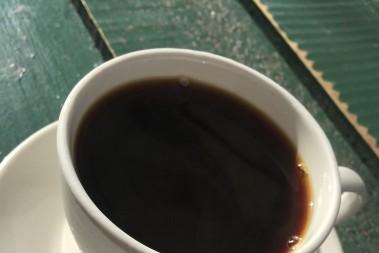 Kaffe i morgonsol