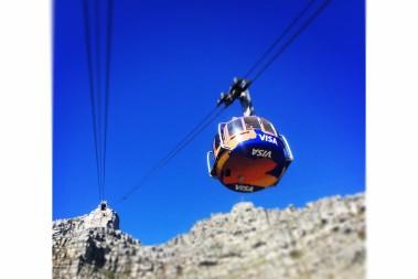 Table Mountain, utan lchf ovanför molnen!