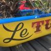 Burgare & majo på Le Tub