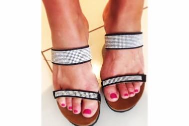 Nya bling bling skor