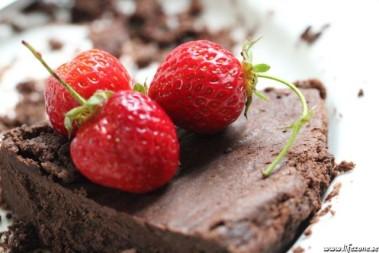 Sommarchokladtårta