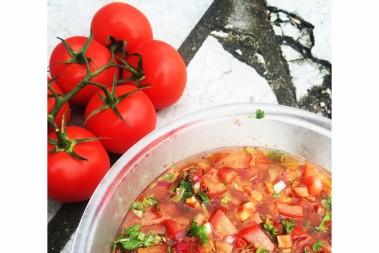 BÄSTA LCHF salsan med chili, lime och koriander