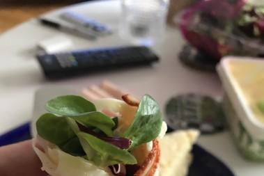 Ost, smör o skinkrullar – brunch