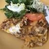 Omelette m kycklingfärs