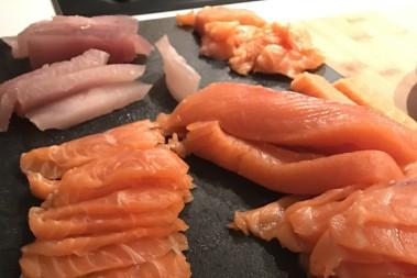 LCHF och sushi – sashimi