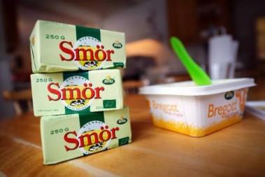 Slut på smör o grädde!