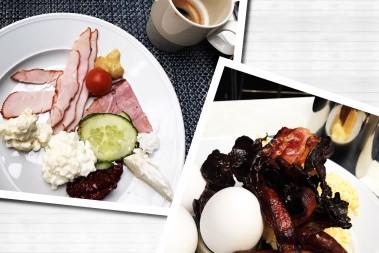 LCHF frukost – på två helt olika sätt