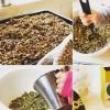 Barnen gör nötfri granola – Barngranola