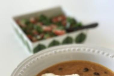 Underbar salsa med böngryta