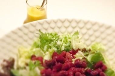 Snabbgjord salladsdressing