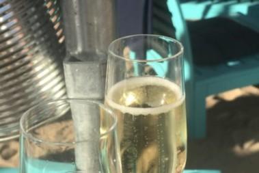 Lite champagne …